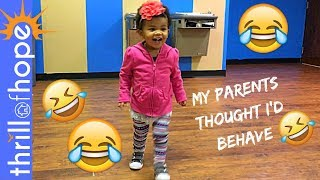 MY PARENT'S THOUGHT I'D BEHAVE!!! [FAMILY VLOG, VLOGGERS, VLOG]