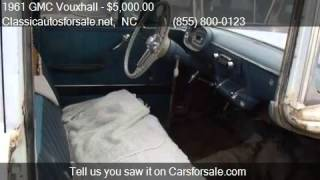1961 GMC Vouxhall  for sale in Nationwide, NC 27603 at Class #VNclassics