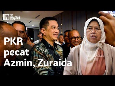PKR pecat Azmin, Zuraida
