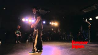 POPPIN FOREVER JUDGE BATTLE best6 003 HARUKI vs GUCCHON