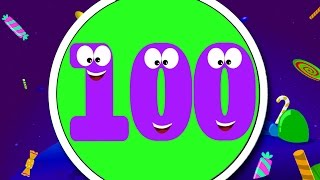 Zahlen Lied | Bildungs-Video | Learn Numbers 1 To 100 | Song For Kids | Numbers Song