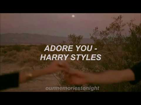Harry Styles - Adore You // Lyrics
