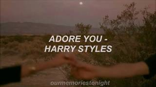 harry styles - adore you // lyrics