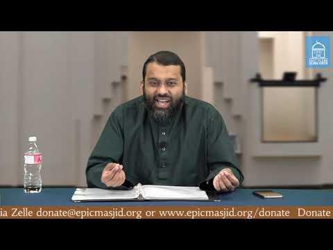 Reality of Sin #2 | Shaykh Dr. Yasir Qadhi