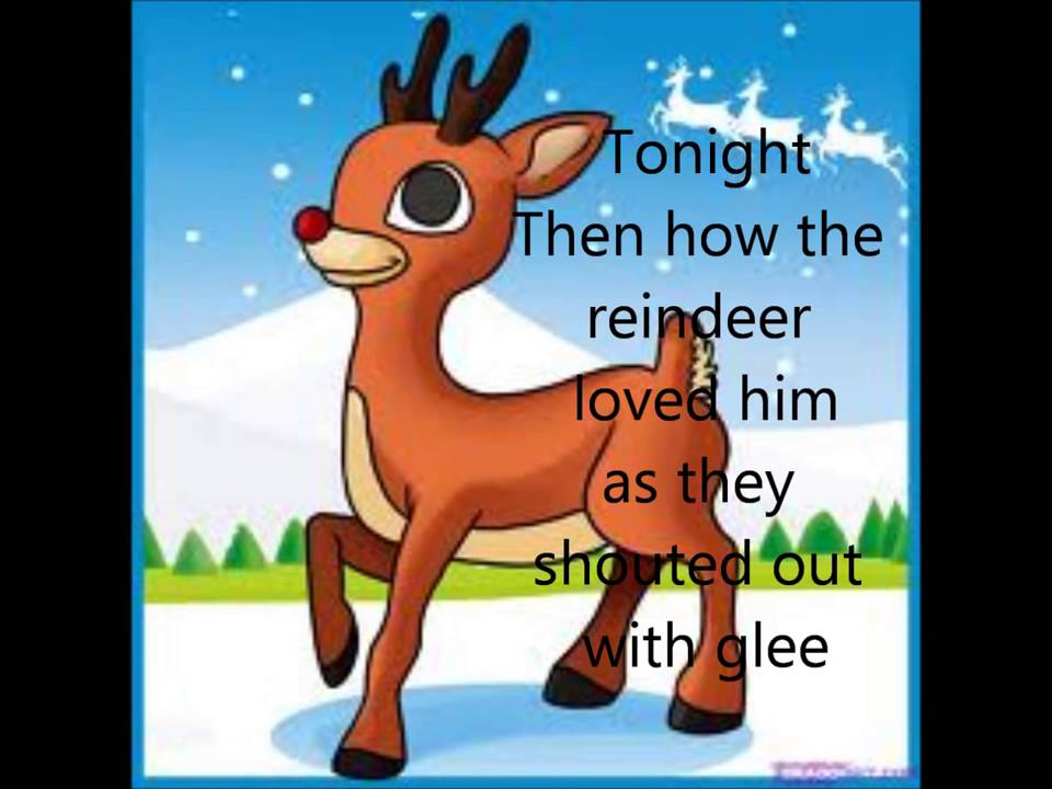rudolph the red nosed reindeer lyrics youtube rudolph the red nosed reindeer lyrics