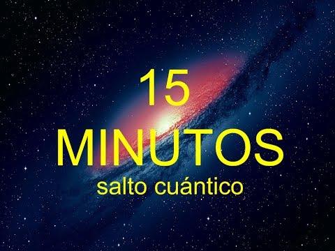 TRANSFORMA TU VIDA EN 15 MINUTOS – Salto Cuántico experimental