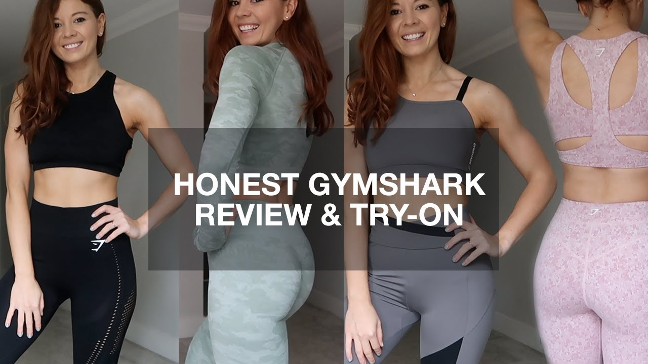 7521b3aecd5ec HONEST GYMSHARK REVIEW & TRY ON HAUL | CAMO, FLEUR + MORE | NOT SPONSORED