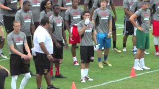 Bryce Oliver La Serna Camp Kiffin 2013 at USC 6-25-13