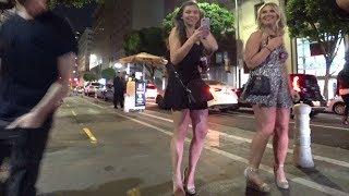Noche en el centro histórico de los Ángeles  Primera parte