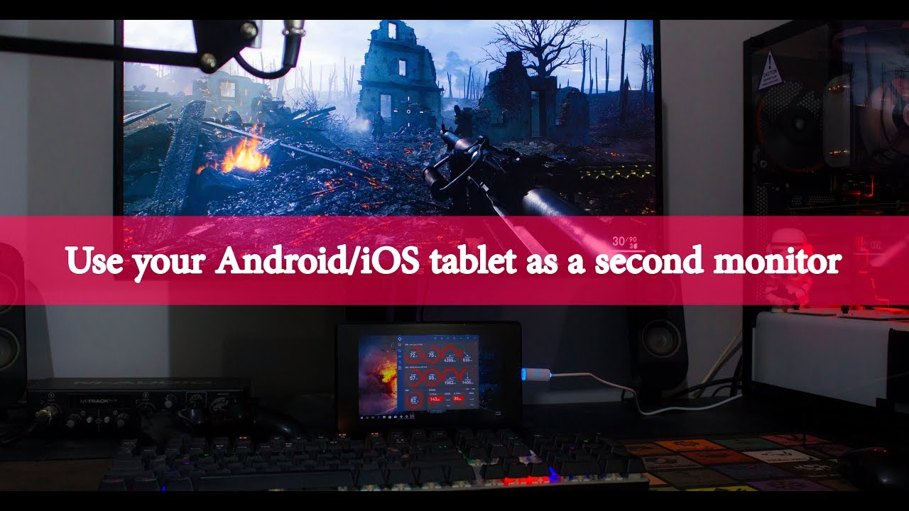 Turn Your Android Tablet into a Second Monitor - No Root