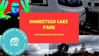 Homestead Lake Park Clacton Caravan Touring Park Site