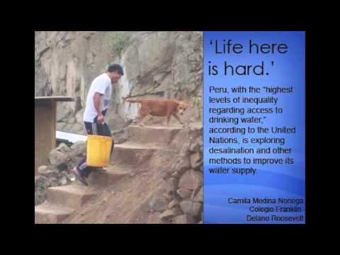 Peru water shortage