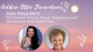 LIVE | Zero Frequency: The Easiest Way to Peace, Happiness and Abundance