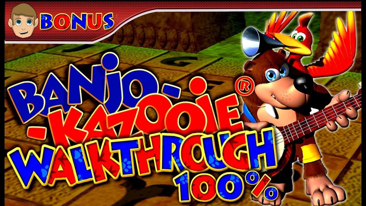 Banjo-Kazooie - 100% Walkthrough - Part 22 (BONUS 2/2) Last secret puzzle & Cheat Codes [1080p HD]