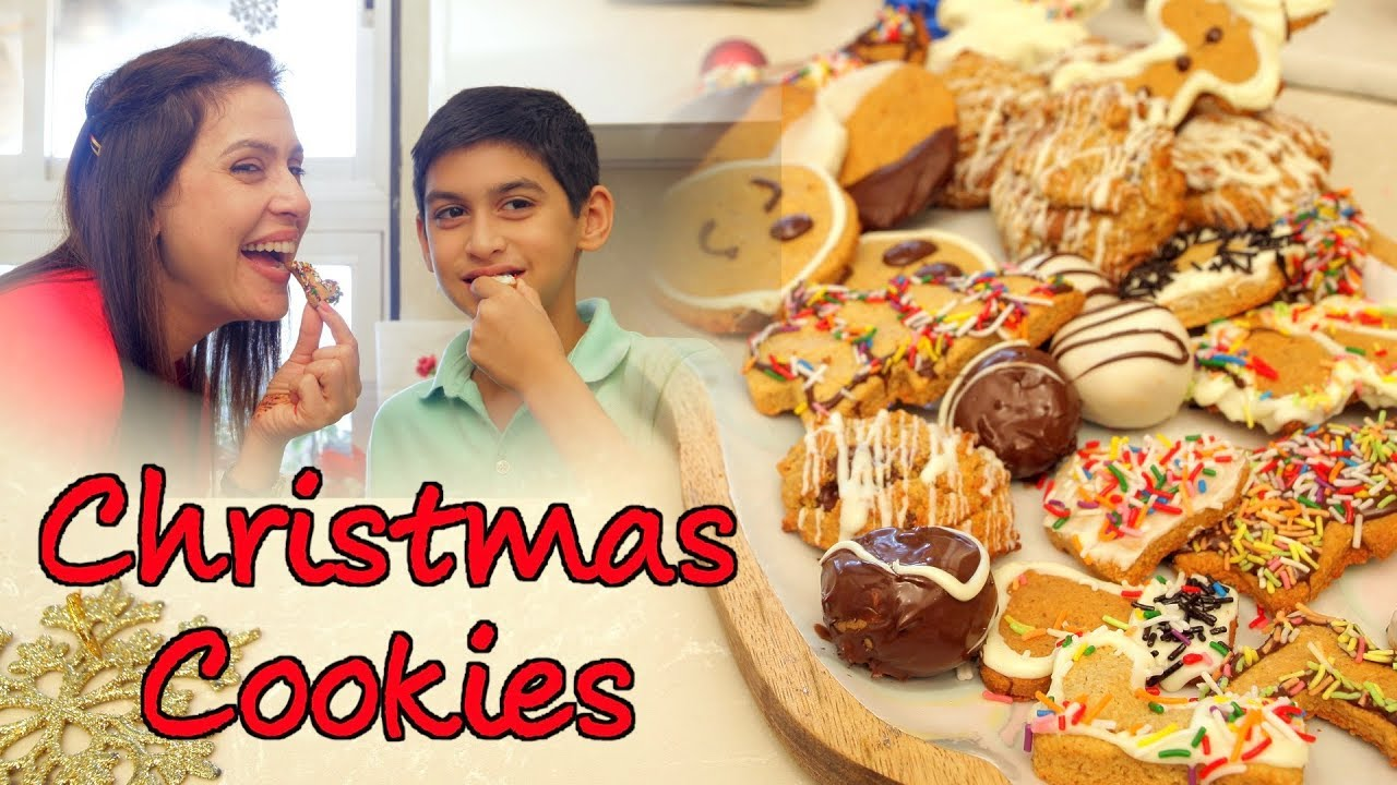 Download Christmas Cookies Recipe By Amrita Raichand   How To Make Cookies At Home   Healthy Oats Cookies
