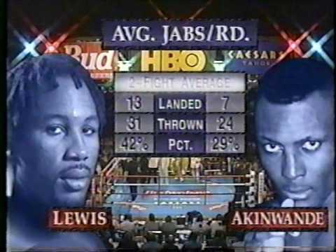 Lennox Lewis vs Henry Akinwande