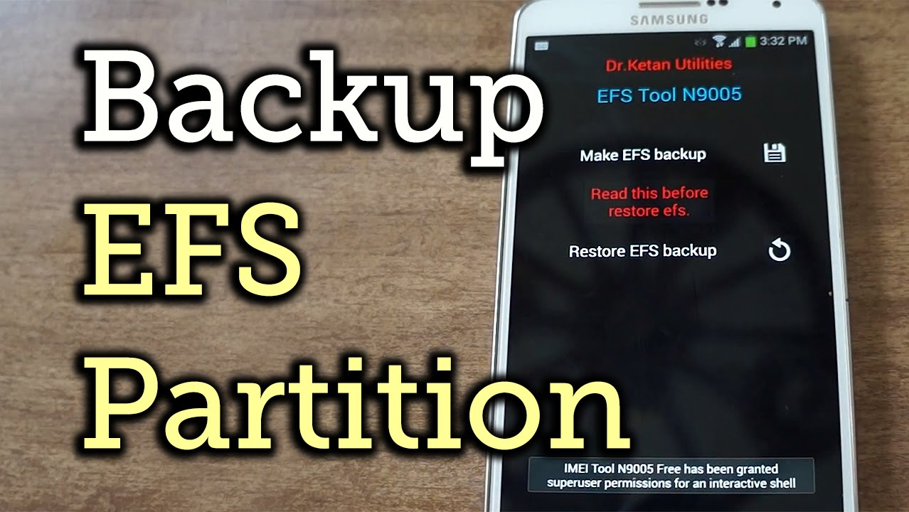 Important: Back Up Your Galaxy Note 3's EFS & IMEI Data for