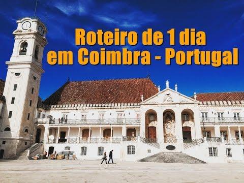 Roteiro de 1 dia em Coimbra - Portugal