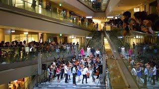 """徳島第九フラッシュモブ Flash mob """"Beethoven's Symphony No. 9""""[Tokushima]"""