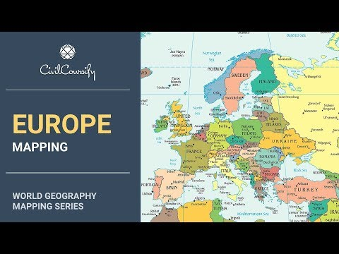 EUROPE || World Geography Mapping - YouTube on map of world tropic of cancer, map of world geology, map of world tropic of capricorn, map of world venezuela, map of world genocides, map of world earthquakes & volcanoes, map of world countries, map of world territories, map of world lat long, map of world fisheries, map of world texas, map of biology, map of world average temperatures, map of writing, map of world siberia, map of world revolutions, map of sociology, map of regions of america, map of world americas, map of world metric system,