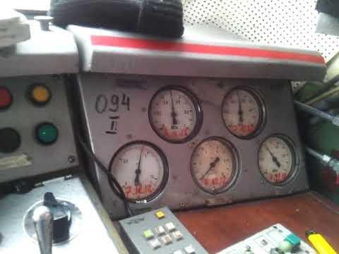 Проверка целостности тормозной магистрали пассажирского поезда