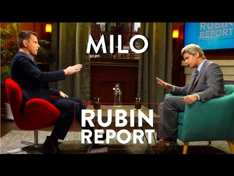 Milo Yiannopoulos and Dave Rubin: Gamergate, Feminism, Atheism, Gay Rights  [Full Interview]