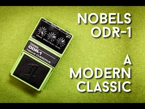 Nobels ODR-1 Review - Another green overdrive that's a modern classic?
