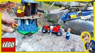 Lego City Police Rescue Stolen Jurassic World Dinosaur Egg!