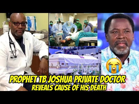 Download TB Joshua Private Doctor finally reveals his D£ADLY sickness in a leaked video 😱