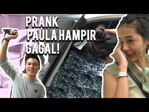 GILAAKK !! LECET2 MOBIL PAULA !! 5 JUTA KELERENG DIMASUKIN KEDALEM !!