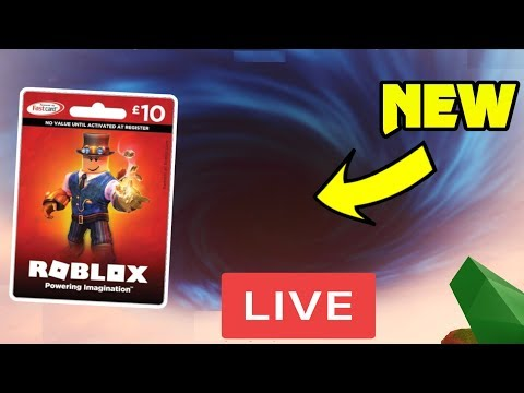 Free Robux Codes Giveaway Live Free 10 15 Robux Giftcard Code Giveaway Happening Now Roblox Jailbreak New Update Live Youtube