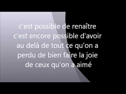 Gael  c'est encore possible paroles (Lyrics)