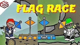 DA2 MiniMilitia How Many Flags Can You Capture in 6 Minutes ??