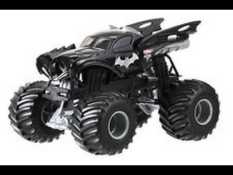 Batman Monster Truck Jouets Dessin Animé Pour Les Enfants Youtube