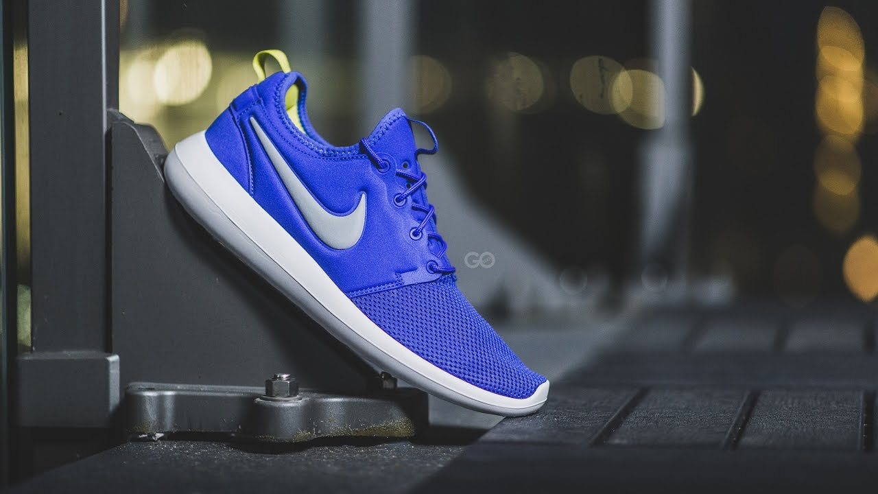 b3c2d6496e7a ... canada review on feet nike roshe two paramount blue a0cdd 1cbd6