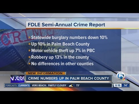 Florida crime rates drops, but murder rate rises in 2016