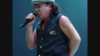 AC/DC - Down On The Borderline (Brian Johnson)