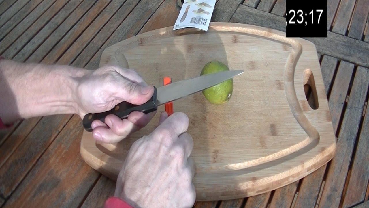 comment aiguiser un vieux couteau en 35 secondes youtube. Black Bedroom Furniture Sets. Home Design Ideas
