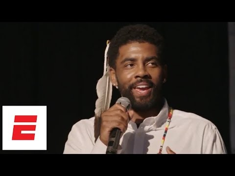 [FULL] Kyrie Irving speech at Standing Rock Sioux naming ceremony | ESPN