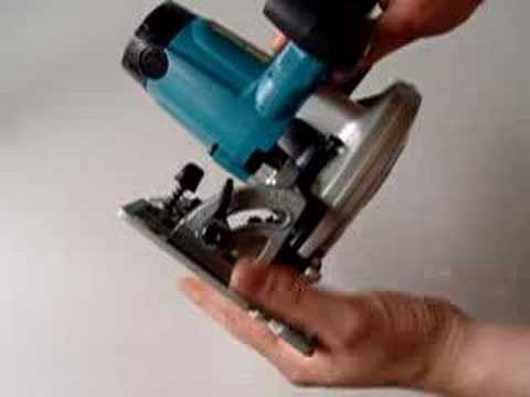 Changing blade on makita lxt cordless circular saw bss610 youtube changing blade on makita lxt cordless circular saw bss610 greentooth Images