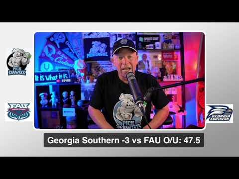 Georgia Southern vs FAU 9/19/20 Free College Football Pick and Prediction  CFB Tips