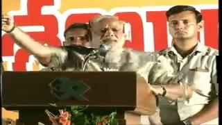 Shri Narendra Modi addressing a Public Meeting in Tirupati, Andhra Pradesh