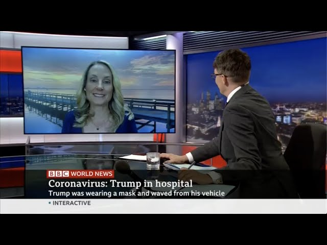 Dr. Dena Grayson discusses Trump's hospitalization for #COVID19