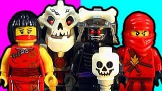 LEGO Ninjago Garmadons Fortress & Nya Rescue