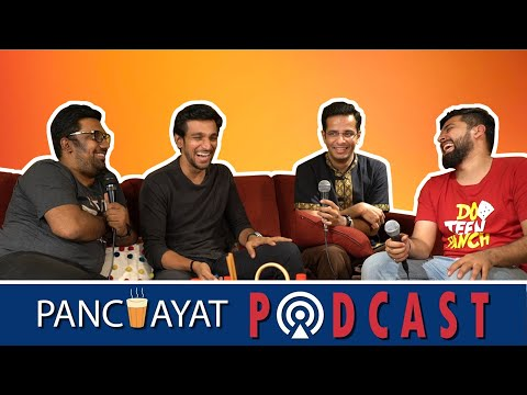 Panchayat Podcast Ep.3 ft. Pratik Gandhi || The Comedy Factory