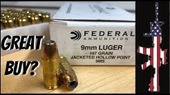 Federal 9 mm 147 GR JHP (9MS) – OUTSTADNING/CHEAP