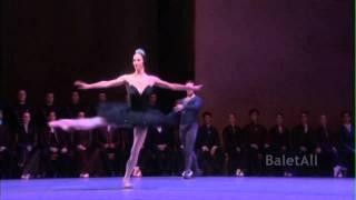2010 Zurich Ballet Swan Lake Black PDD Coda Polina Semionova Stanislav Jermakov thumbnail