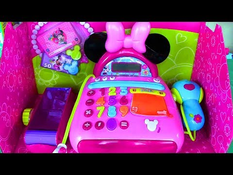 Thumbnail: Disney Junior Mickey Mouse Clubhouse Minnie Mouse Bow-tique Electronic Cash Register