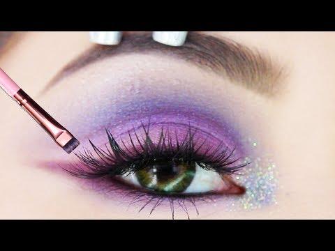 How to Turn ANY Eyeshadow Into Eyeliner Tutorial | DIY EYELINER HACK