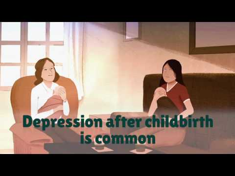 WHO: Let's talk about depression - focus on women with young babies